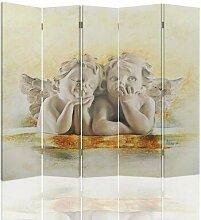 Paravent Angels mit 5 Paneelen