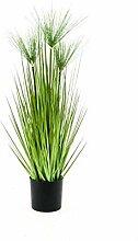 PARC Network Plastik Papyruspflanze, grün, 75cm -