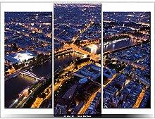 PARIS - TABLEAU IMPRIME MODERNE - DECO - DESIGN - FRANCE