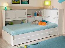 PARISOT Kinderbett mit Regal SNOOP