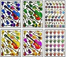 PARITA Stickers 04 Vinyl-Aufkleber für Ukulele,