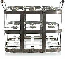 Park Designs 9Flasche Metall Box 20,3cm Höhe