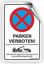 PARKEN VERBOTEN - Parken verboten Schild / PV-012