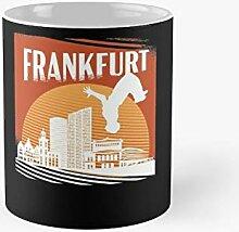 Parkour Freerunner Athletes In Frankfurt Gift