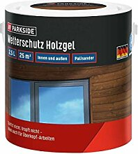 PARKSIDE Baufix Wetterschutz-Holzgel je 2,5 Liter