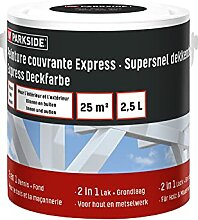 PARKSIDE Express Deckfarbe, Wetterschutzfarbe