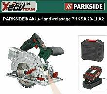 PARKSIDE PHKSA 20-Li A2 Akku-Handkreissäge 20 V