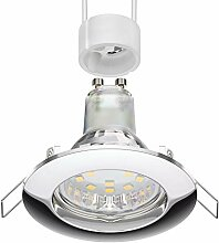 parlat LED Decken-Einbaustrahler CIRC chrom GU10