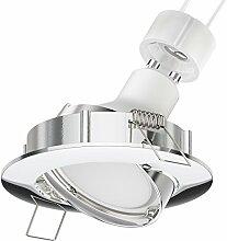 Parlat LED Decken-Einbaustrahler CIRC Chrom