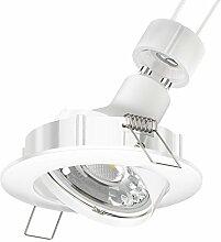 Parlat LED Decken-Einbaustrahler CIRC schwenkbar