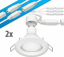 parlat LED Decken-Einbaustrahler DEX GU10 4,5W