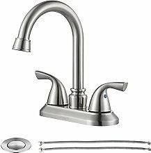 parlos Waschbecken Wasserhahn mit Ablaufgarnitur