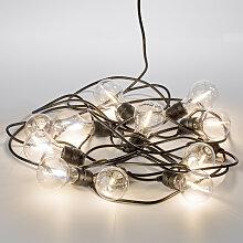 Party 10m Lichterkette klar Inkl. LEDs