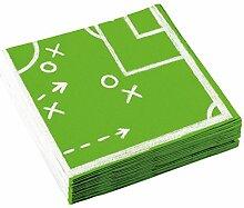Party-Servietten Fußball/Papier-Servietten