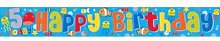 "Party-Spruchband, ""Happy 5th Birthday"", 2,6 m"