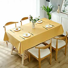 PARTY STORE Tischdecke, rechteckig, aus PVC, Farbe