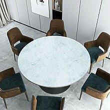 PARTY STORE Tischdecke, rund, aus dickem PVC,