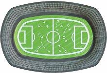 Party-Teller Fußball/Papp-Teller