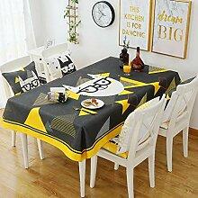 Party-Tischdecke für Geburtstagsparty, Polyester,