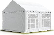 Party-Zelt Festzelt 4x4 m Garten-Pavillon -Zelt