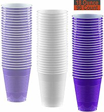 Partybecher, ca. 46 ml, 96 Stück – Lavendel,