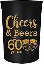 Partybecher für Geburtstage und Bier bis 30, 40,