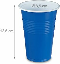 Partybecher-Set ClearAmbient Farbe: Blau