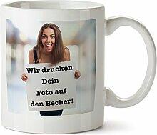 Partycards Fototasse Personalisierter Kaffeebecher
