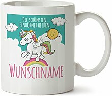 Partycards Personalisierter Kaffeebecher Weiß
