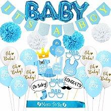 Partydekoration für Babyparty für Jungen, Banner