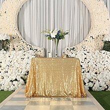 PartyDelight Pailletten-Tischdecke, Hochzeit,