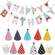 Partyhüte Kindergeburtstag, Qianyou Geburtstag