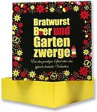 Partyspiel Bratwurst Bier und Gartenzwerge 46003