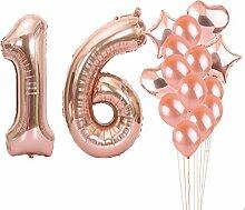 Partyzubehör zum 16. Geburtstag, Luftballons zum