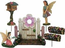 Parva Garden Fairy Garden Kits für Mädchen -