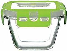 Pasabahce 53522 Storemax - Frischhaltedose, Vorratsdose, aus Glas mit Clip-Deckel, 880ml