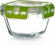 Pasabahce 53562 Storemax - Frischhaltedose, Vorratsdose, aus Glas mit Clip-Deckel, 290ml