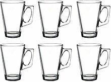 Pasabahce 55201 – Teeglas mit Henkel Vela für