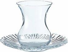 Pasabahce 95961-12-TLG Türkisches Teeglas-Set