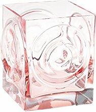 Pasabahce Chicago Vase, Glas, Rosaro