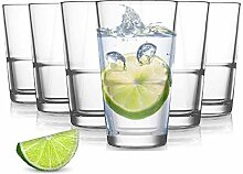 Pasabahce Grande Wassergläser - 250 ml - Set aus