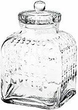 Pasabahce Stock Behälter, Glas, Transparent, 25 cm