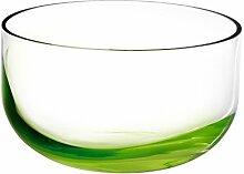 Pasabahce Vase, Glas, Grün