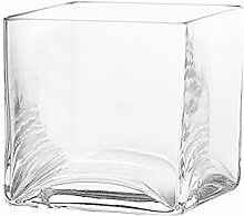 Pasabahce Vase, Glas, Transparen
