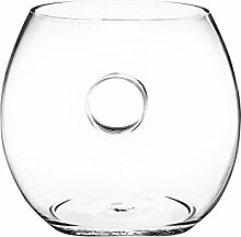 Pasabahce Zoom Vase, Glas, Transparen