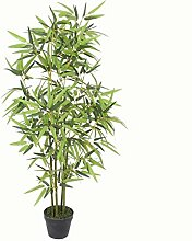PASAMO 07054 Bambus, Echtholzstamm, Kunstpflanze