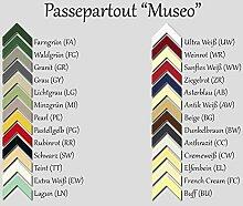 Passepartout MUSEO bis 80,0 x 120,0 cm