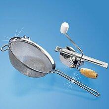 Passier-Sieb Küchensieb Küchengerät Küchenhelfer Abgießhilfe Salatseiher Abschüttsieb Seiher