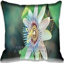 Passion Flower Pillow Case Sofa Waist Throw Cushion Cover Home D¨¦cor 16x16(2 Sides)