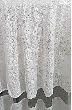 passiondécor Tischdecke Pailletten weiße